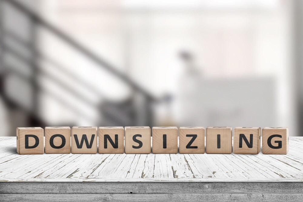 How to Downsize While Moving?